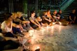 Cerchio di luce per la CenaBaratto del solstizio d'estate con Nathalie Siviglia