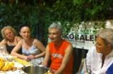 Clare Galloway alla cenaBaratto. Quando l'artista propone lo stile dei centri minori
