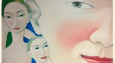 """L'invito nei quadri di Clare Galloway a vivere proattivamente: """"Sustained self"""""""
