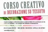 Corso creativo di decorazione su tessuto, dall'11 maggio, con CAAT Benevento