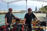Dalla Germania in bicicletta: alla cenabaratto Siegfried Jochum e Dieter Zagel, venerdì 15 maggio