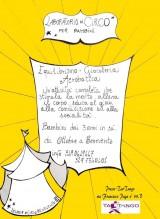 Laboratori di circo, dal 7 ottobre, con la Scuola di Circo di Benevento, presso l'associazione Tao Tango.