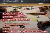 COLORING DAY gestione dello stress colorando mandala. Laboratorio pratico esperienziale. 14 novembre, libreria Masone Alisei.