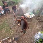 Ri-Creare - Caba, forno temporaneo di carta e barbottina, Salvatore Troiano - Foto di Nello Antonio Valentino, Bhumi Ceramica