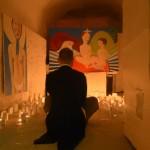 Ri-Creare - Lorenzo Canzanella nella Chiesa dentro di me di Clare Galloway - Foto di Sara Cancellieri