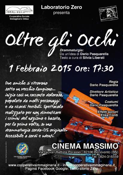 Oltre Gli Occhi. drammaturgia sorda-LIS - Benevento