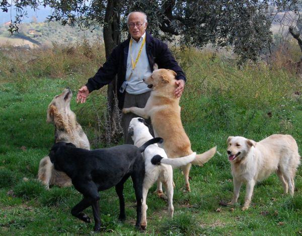 Pasquale_Casciello e i suoi cani